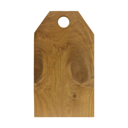 Teak Root Cutting Board