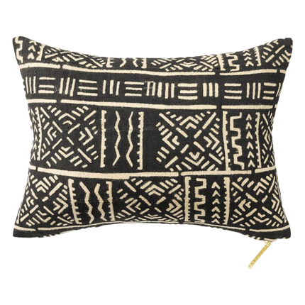 Mud Cloth I Lumbar Pillow