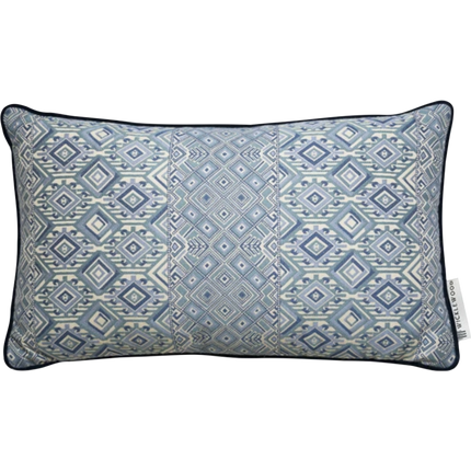 Nahuala Oversized Oblong Pillow - Blue