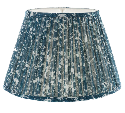Gathered Bedwyn Shade, Quartz Blue