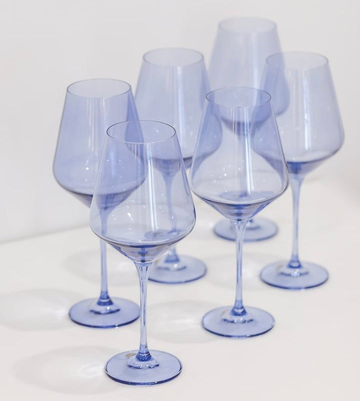 Colored Glassware, Cobalt Blue