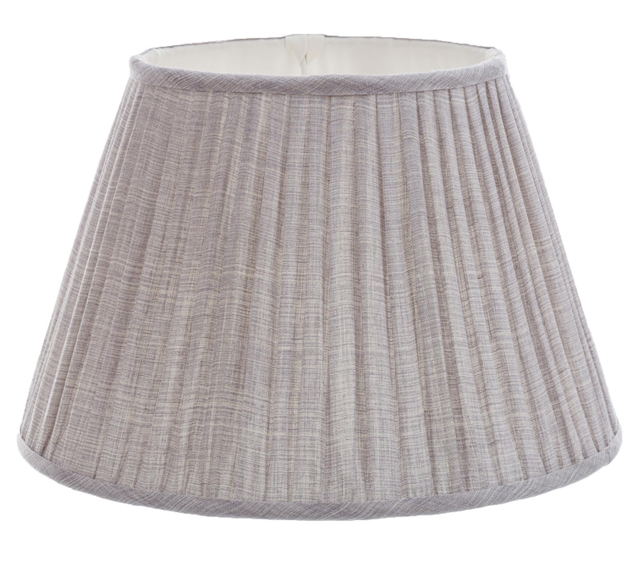 Gathered Bedwyn Shade, Moire Lavender