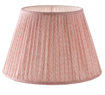 Gathered Bedwyn Shade, Figured Pink