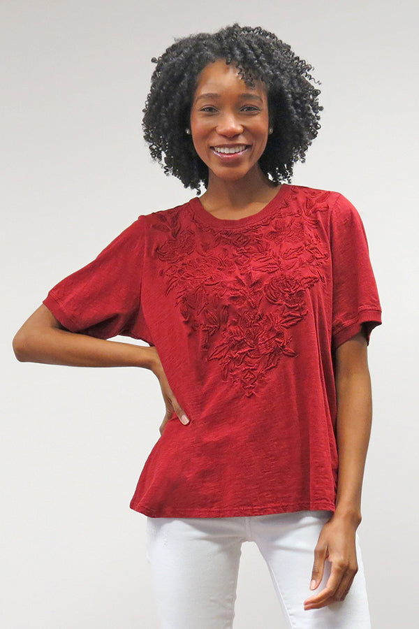Nova Tee | Syrah Red (Fall)
