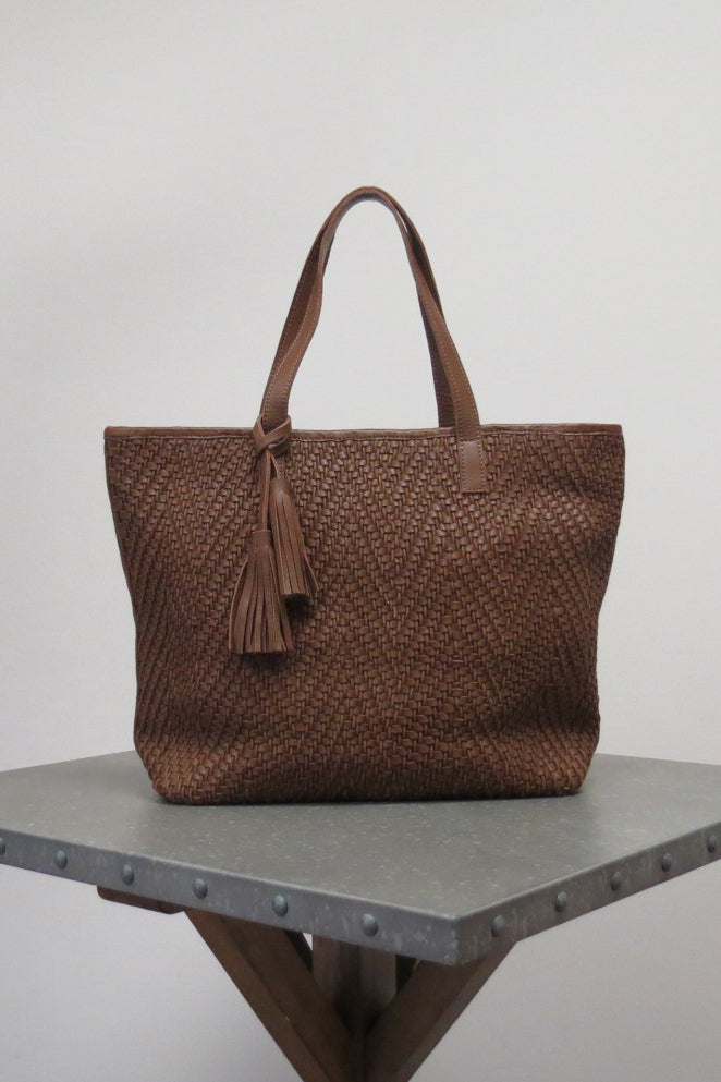 DELPHINE BAG | SADDLE BROWN - Caite & Kyla