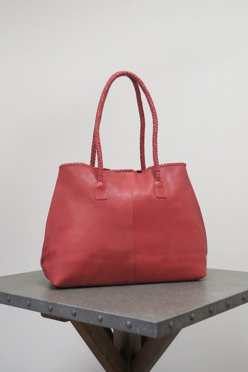 SHILOH BAG | SUNDRIED RED - Caite & Kyla
