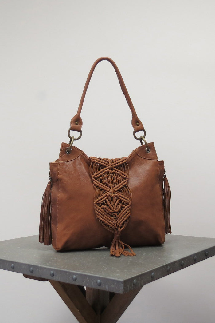 ANYA BAG | BROWN - Caite & Kyla