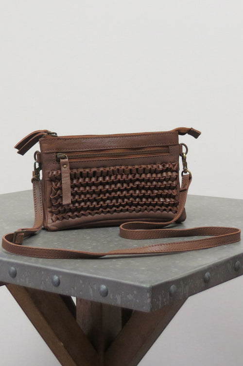 SURI BAG | SADDLE BROWN - Caite & Kyla
