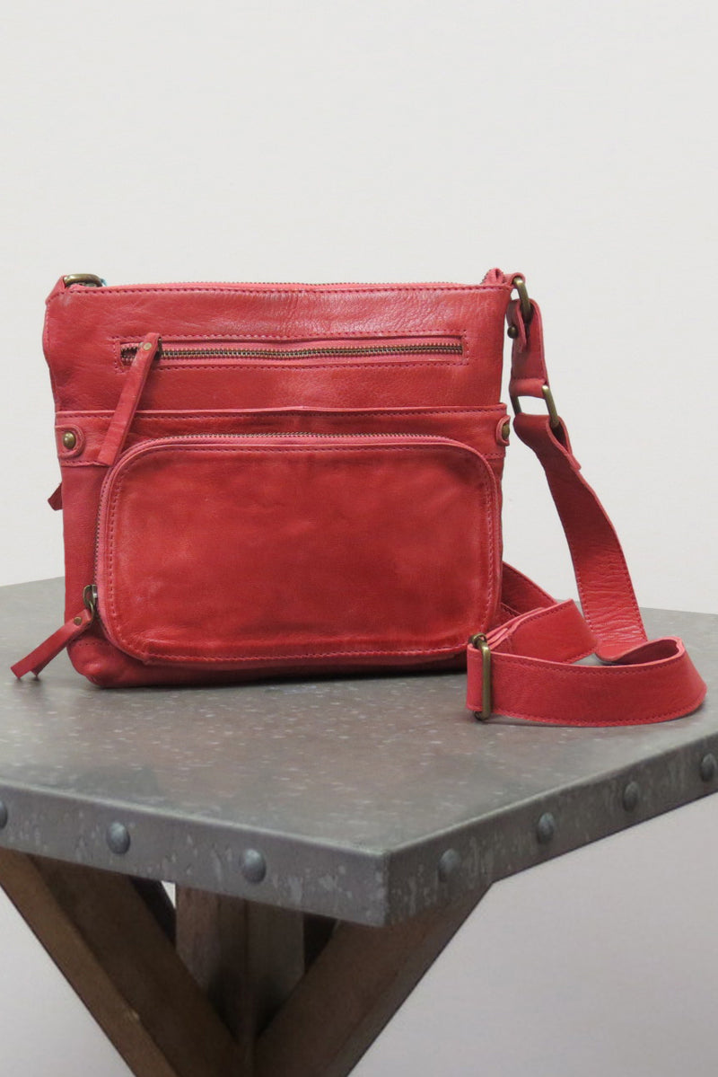LIV BAG | SUNDRIED RED - Caite & Kyla