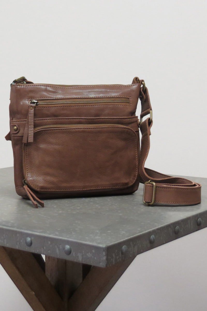 LIV BAG | SADDLE BROWN - Caite & Kyla