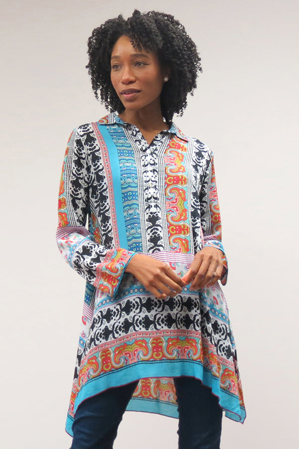Love Kyla Collared Tunic (Fall)