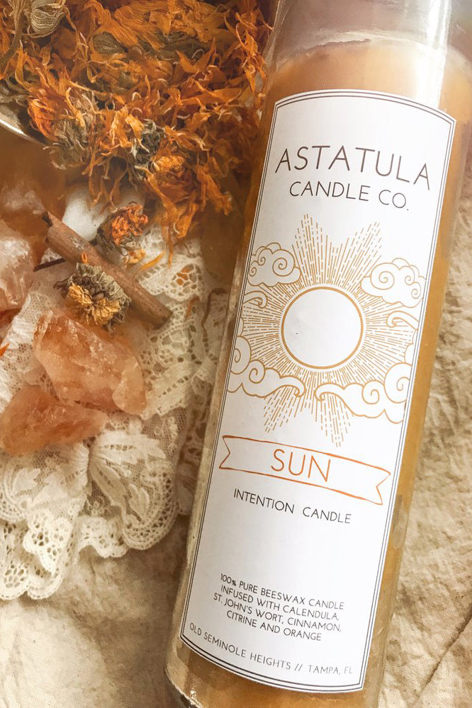 Sun Intention Candle