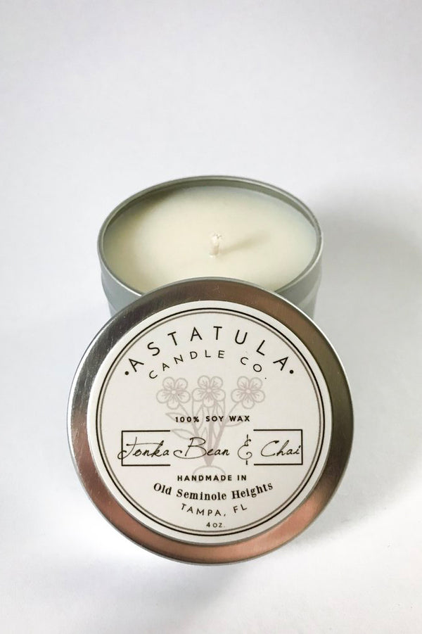 Tonka Bean & Chai Candle | 4oz Tin