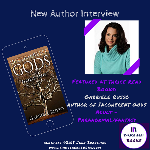 Interview with Gabriele Russo - Author of INCOHERENT GODS