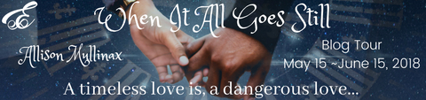 When it all Goes Still blog tour graphic