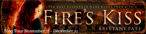 fire's kiss blog banner