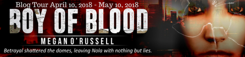 Boy of Blood promo banner