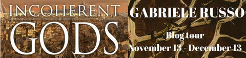 Thrice Read Books presents an author interview with Gabriele Russo, author of the GODS, INC. series, and recent release, INCOHERENT GODS