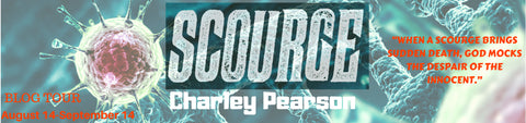 Thrice Read Books interviews SCOURGE author, Charley Pearson
