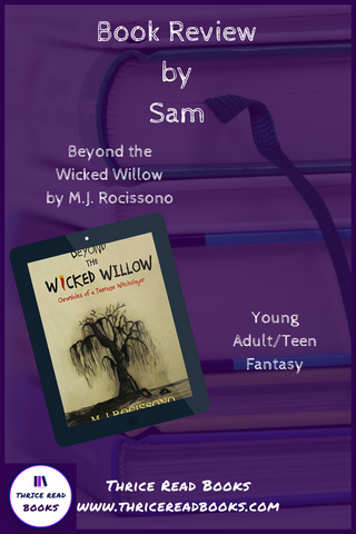 Sam's Teen Reads Corner reviews M.J. Rocissono's Teen/YA Fantasy Beyond the Wicked Willow
