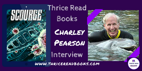 Jenn talks to Charley Pearson, author of science fiction/medical thriller SCOURGE