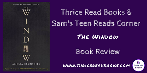 Thrice Read Books & Sam's Teen Reads Corner reviews The Window by Amelia Brunskill - A YA Mystery Novel