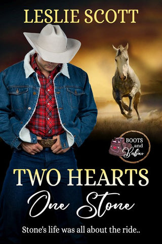 "The big reveal: Newly released cover and teaser from The Wild Rose Press - Contemporary Romance ""Two Hearts One Stone"" by Leslie Scott excerpt and cover reveal"