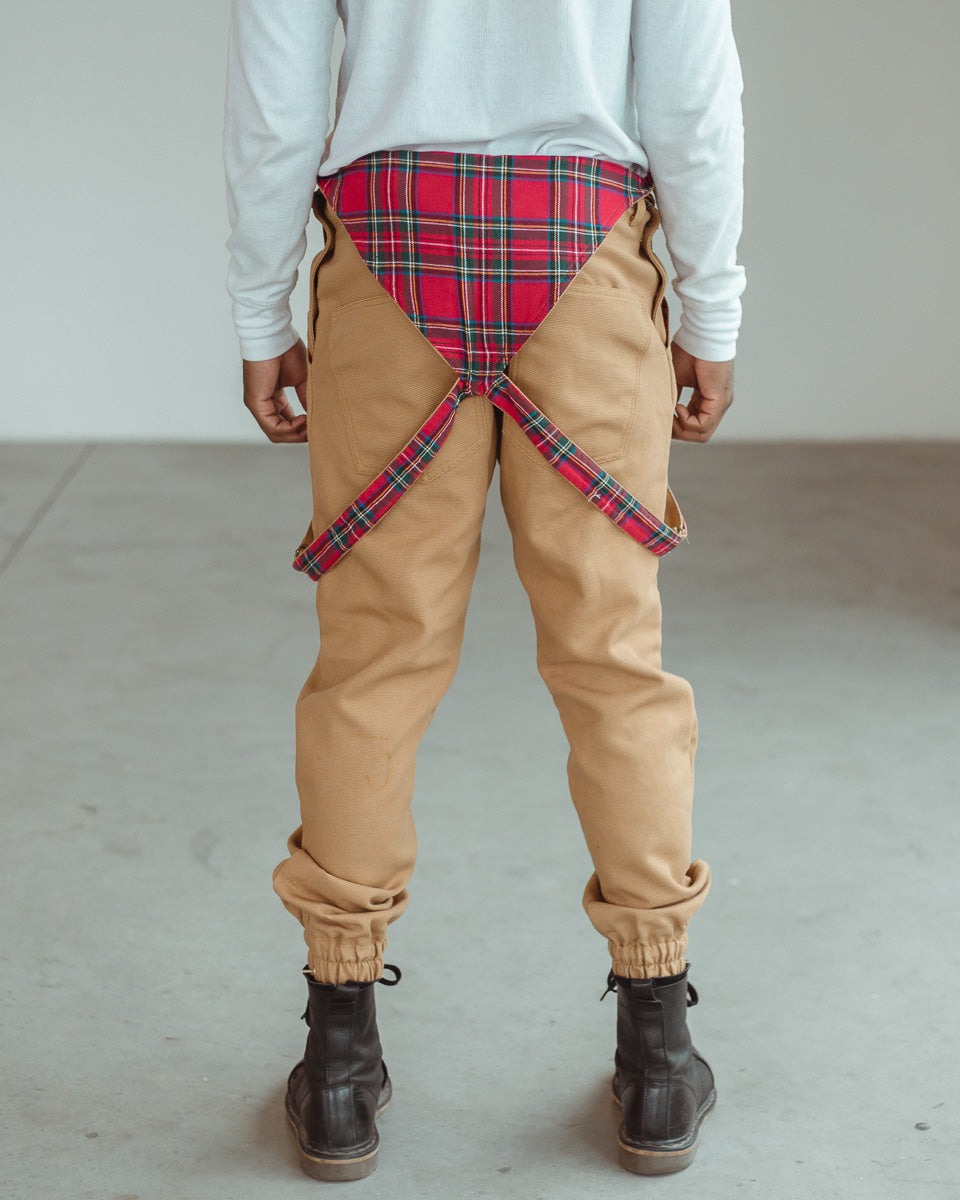 RED STEWARD PLAID