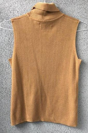 Vintage Sleeveless Turtleneck