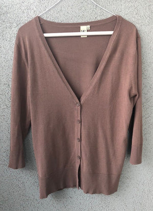 Vintage Lightweight Button Up Cardigan