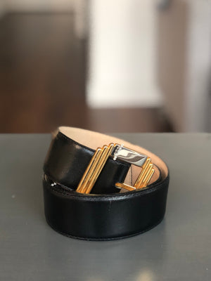 Vintage Leather Waist Belt