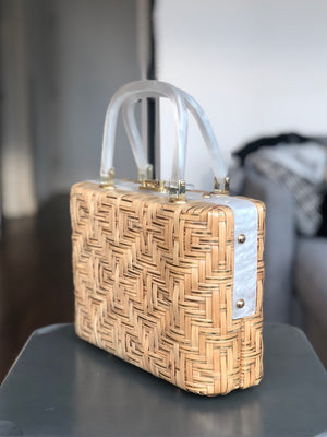 Vintage Wicker Bag