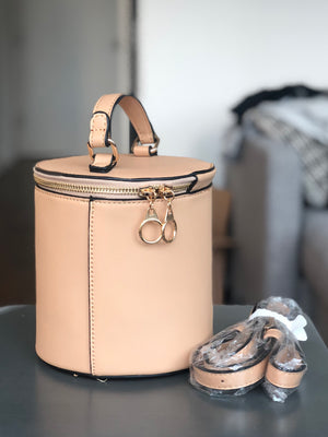 Tan Bucket Bag