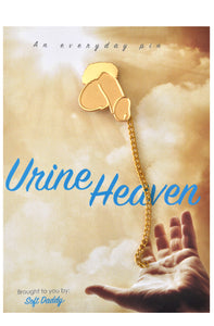 Urine Heaven lapel pin