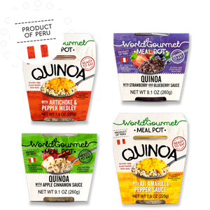 Ready-To-Eat Quinoa Meals