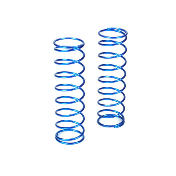 Losi Rear Shock Spring Set (Blue - 8.0lb) (2) 5IVE-T