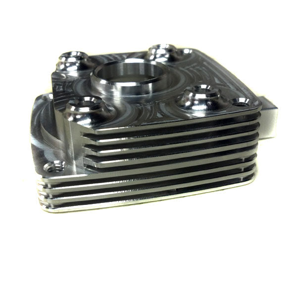 Turtle Racing v2 Billet Clutch Case RAW