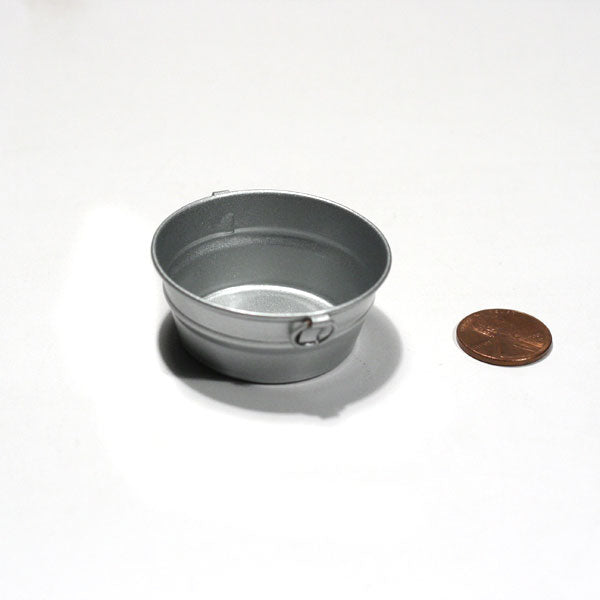 Miniature - Metal Washtub with 2 Lugs
