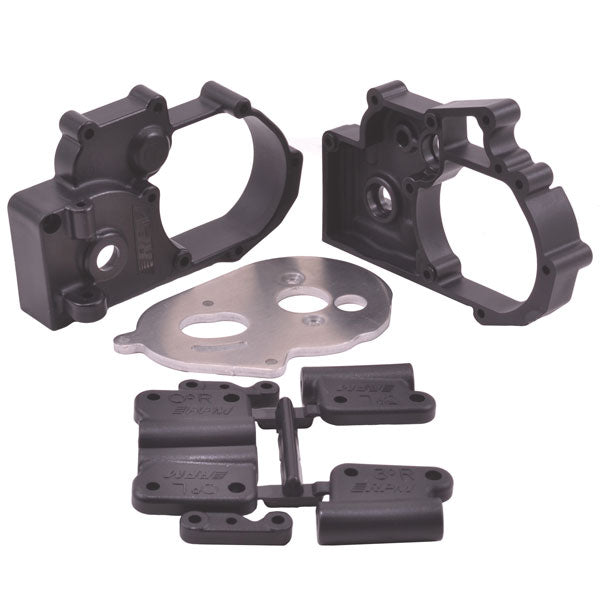 RPM - Hybrid Gearbox Housing and Rear Mounts for Traxxas 2wd vehicles