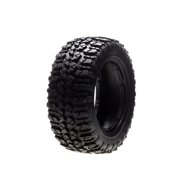 Losi Nomad Tire Set (2) (5IVE-T) (Firm) 5IVE-T