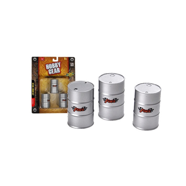 Hobby Gear 1/24 Scale 50 Gallon Drum Set