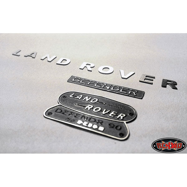 RC4WD CCHAND Land Rover Defender D90 Emblem Set