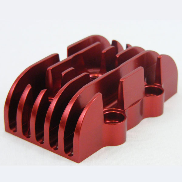 BZM 32mm Cylinder Head CNC Red