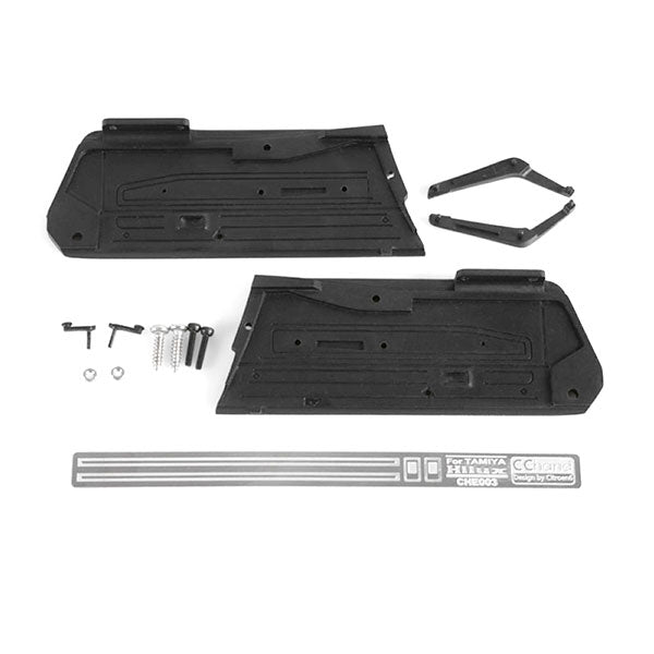 RC4WD CCHand Interior Door Panels for Hilux, Bruiser, and Mojave