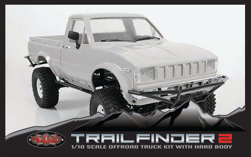 RC4WD Trail Finder 2 Truck Kit W/Mojave II Body Set