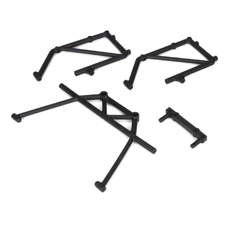 Losi Rear Cage Mount & Fender Brace Set (5IVE-T