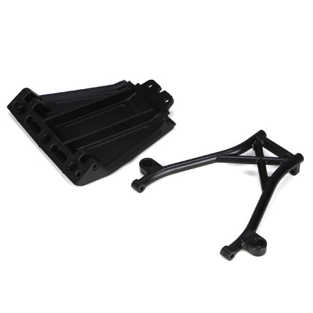 Losi Front Skid Plate & Bumper Brace Set 5IVE-T