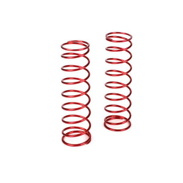 Losi Rear Shock Spring Set (Red - 9.3lb) (2) 5IVE-T