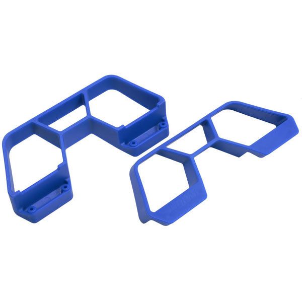 RPM Blue Nerf Bars for the Traxxas 1/10th scale Rally, LCG Slash 4x4