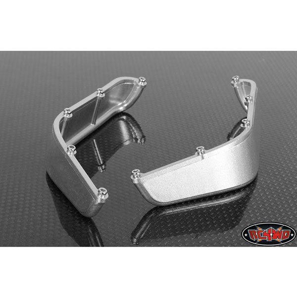 RC4WD Aluminum Tube Front Fender for Axial Jeep Rubicon (Silver)